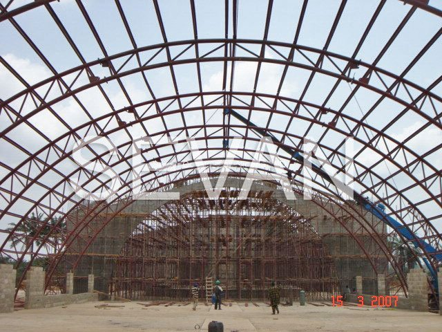 Architectural Curved Trusses Sevan Construction Nigeria Ltd
